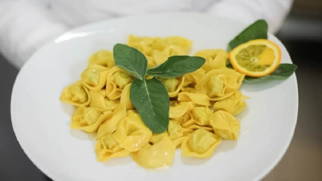 tortellini - Bistrot Rosso Fuoco, Bologna