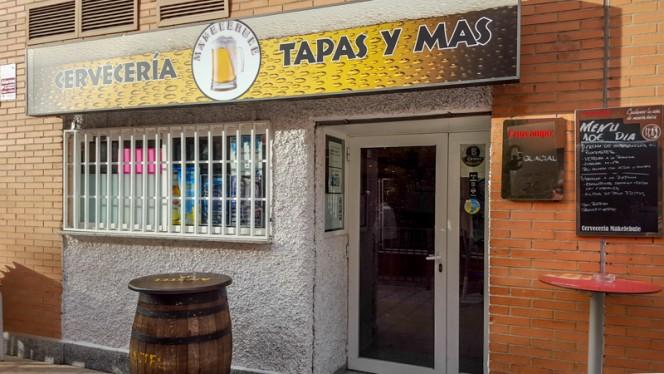 fachada - Makelebule, Madrid
