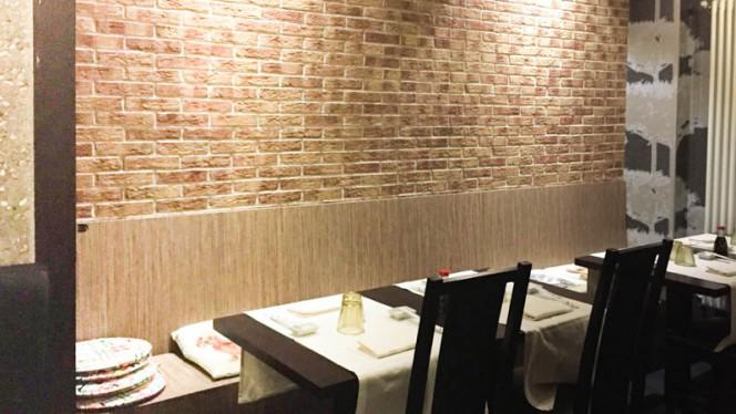 Particolare tavoli - Shang Jing, Milan