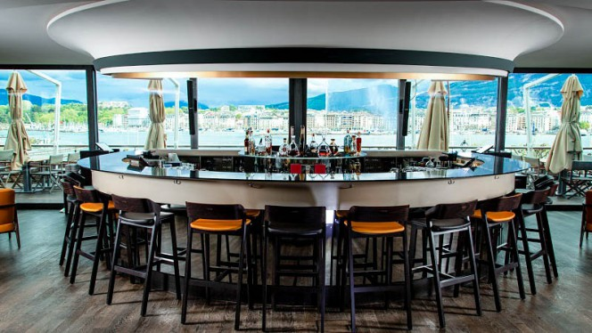 Interiör - Grand Hôtel Kempinski Genève - FloorTwo Bar, Genève