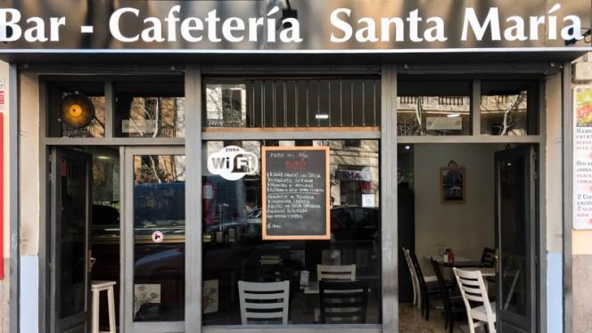 Entrada - Santa María, Madrid