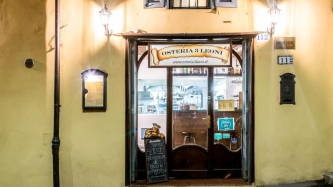 Entrata - Osteria 3 Leoni, Bologna