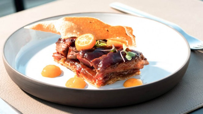sugerencia del chef - Sky Bar - Grand Hotel Central, Barcelona