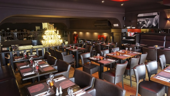 Vue salle - Brussels Grill Toison d'Or,