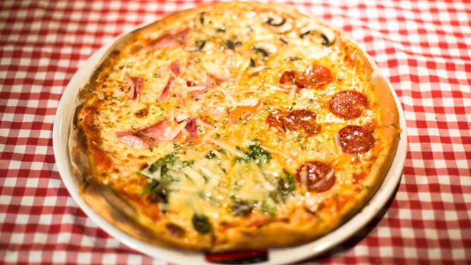 Pizza 4 estaciones - La Mattina, Valencia