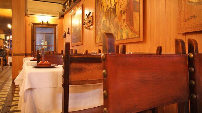 Detalle sillas de cuero - Pamplona, Barcelona