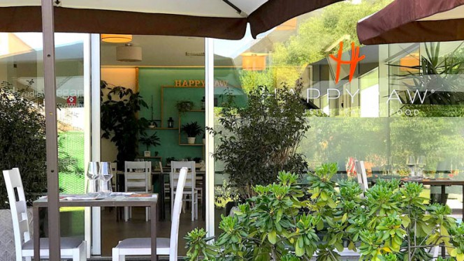 Happyraw esterno - Happyraw exclusive italian food, Faenza