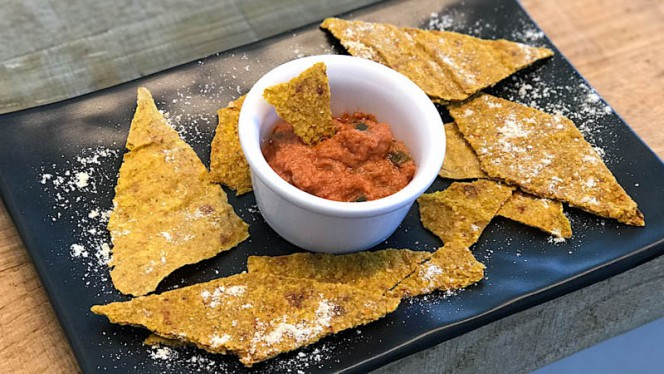 Raw Nachos - Happyraw exclusive italian food, Faenza