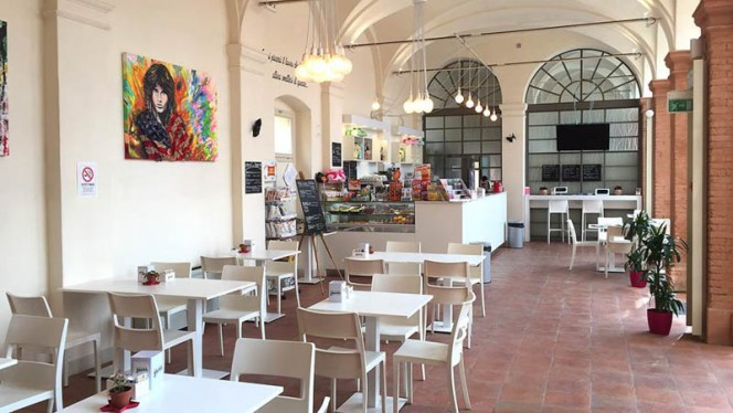 Vista sala - E-Workafé Faenza, Faenza