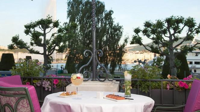 Terrasse du Bar de Beau-Rivage - Le Bar de Beau-Rivage, Genève