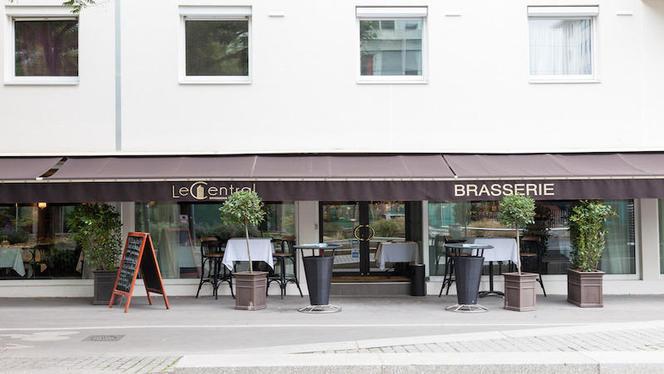 devanture - Brasserie Le Central, Lyon