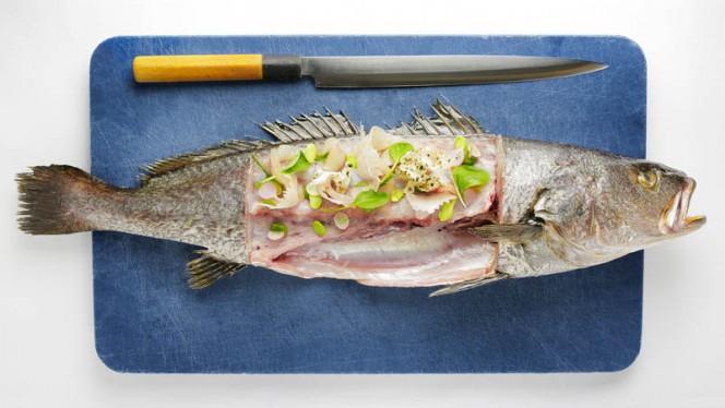 Dish on fish - Koningsbaars - Restaurant Karel 5 - Restaurant Karel 5, Utrecht