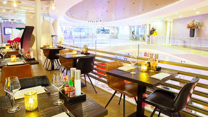 Het restaurant - Global Dining, Ámsterdam
