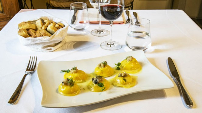 Suggerimento dello chef - Antica Trattoria del Reno, Bologna