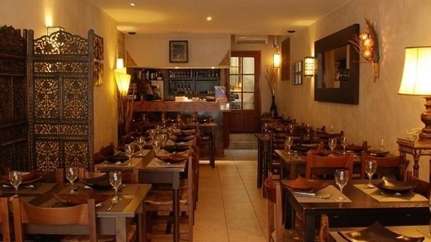Salle du restaurant - Le Sukhothai, Toulouse