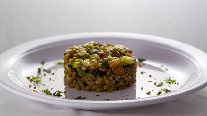 Farro e verdure - Gastronomia Cuore Verde, Milan