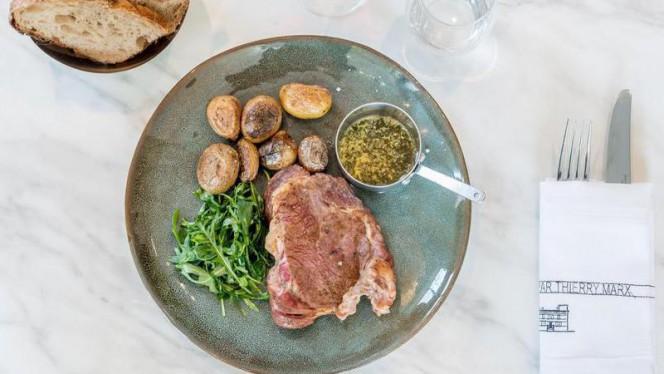 Entrecôte, beurre maître d'hôtel et pomme de terre grenailles - La Villa par Thierry Marx, Lyon
