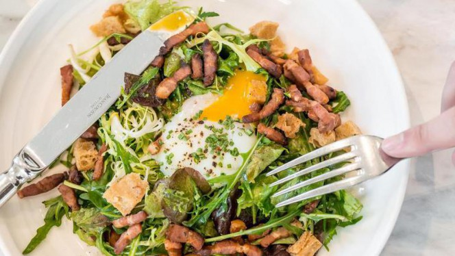 Salade lyonnaise - La Villa par Thierry Marx, Lyon