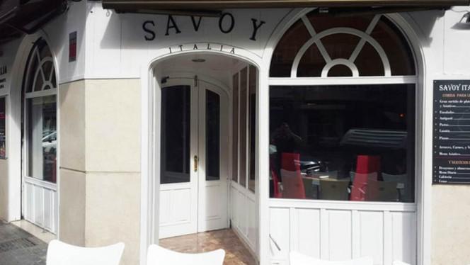 Entrada - Savoy Italia, Valencia