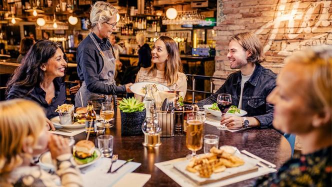 Restaurangens rum - Harrys Helsingborg, Helsingborg