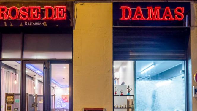 Entrée - Rose de Damas, Lyon