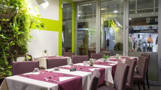 Vue de la salle - Green up Café,