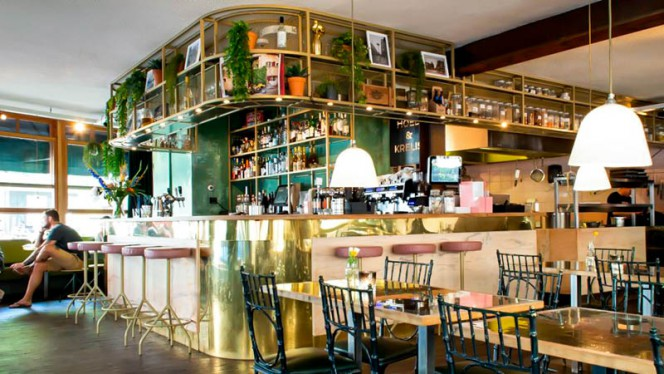 Het restaurant - Hoed & Krelis, Amsterdam
