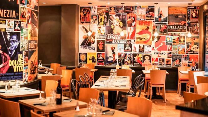 Vue de la salle - Pizza Papa, Toulouse