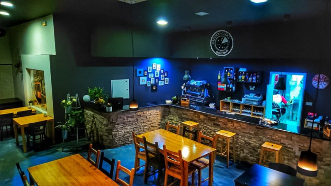 Sala del restaurante - Bocateria capisco, Valencia