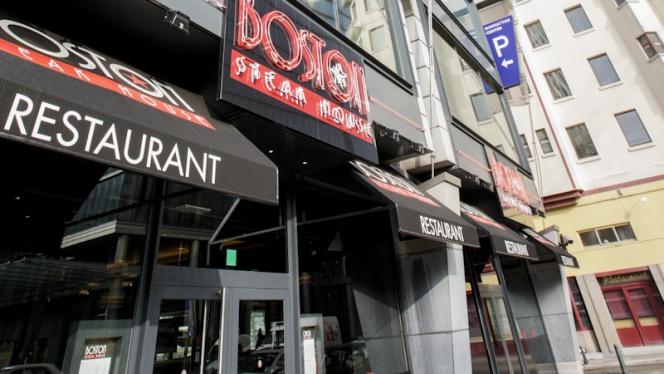 Vue façade - Boston Steak House Rogier,