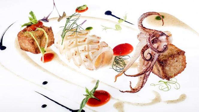 Calamaro alla griglia - Ristorante Corbezzoli, Bologna