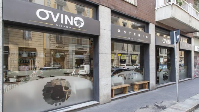 Entrata - Osteria Ovino, Milan
