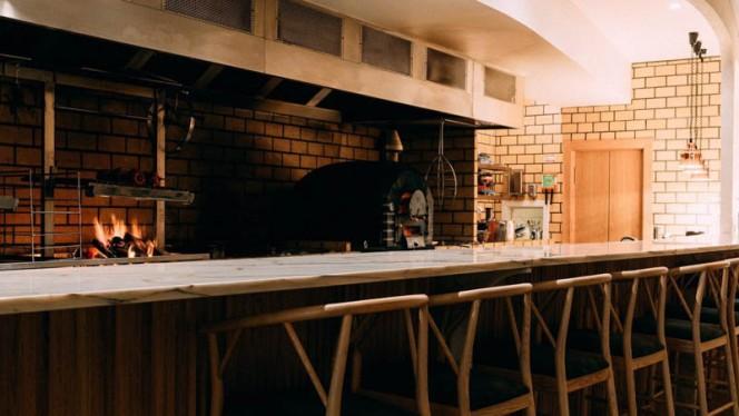 Vista sala - Restaurante Elemento, Porto