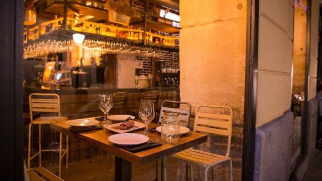 Vista mesa - Pim Pam, Madrid