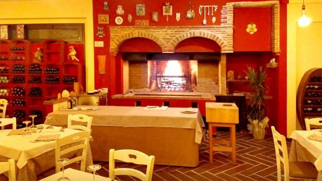 Vista della sala - La Tana del Gufo, Cortona