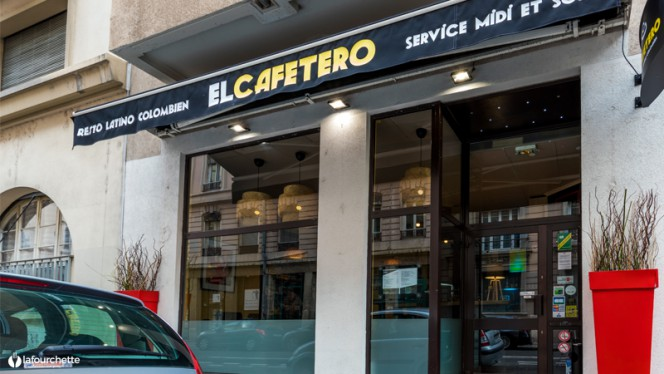 Vue de la salle - El Cafetero, Lyon