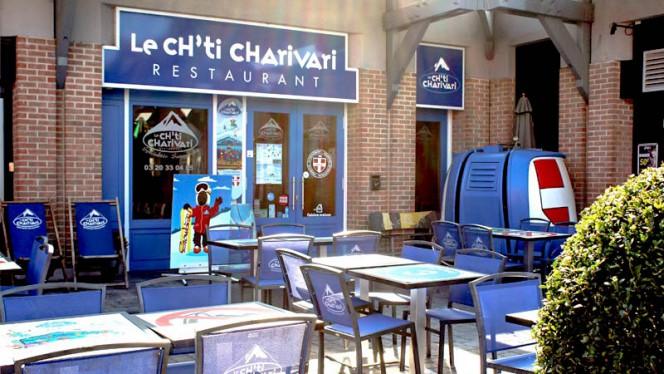 Terrasse du restaurant - Ch'ti Charivari, Villeneuve-d'Ascq
