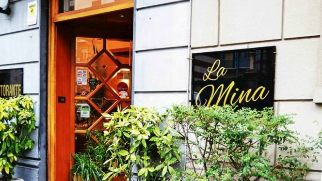 Facciata - La Mina, Torino