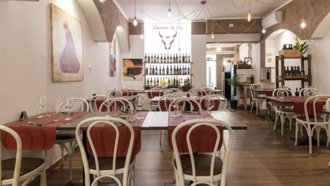 Vista della sala - Manzo & Co., Bologna