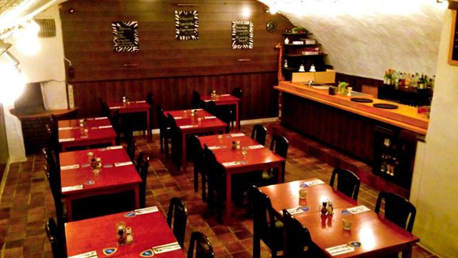 Restaurantzaal - Gandhi Indiaas Restaurant, Utrecht