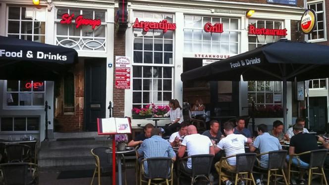 Terras - St. George, Amsterdam