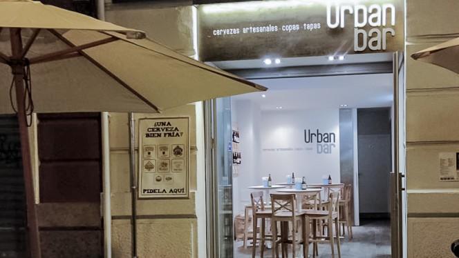 Entrada - Urban Bar, Valencia