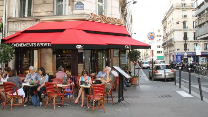 Terrasse - Le Royal, Paris