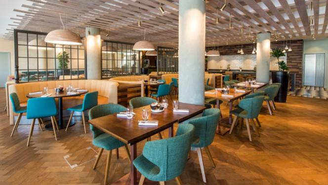 Intérieur du restaurant Le Quai du 7ème - Le Quai du 7ème, Marseille