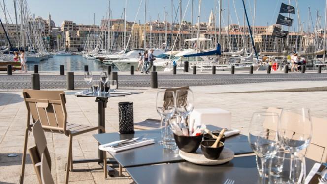 Terrasse Vieux-Port Le Quai du 7 ème - Le Quai du 7ème, Marseille