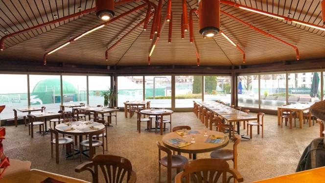 Vue de la salle - Restaurant Tennis Club Lancy,