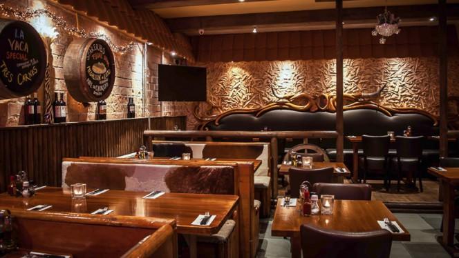 Het restaurant - la Vaca, Amsterdam
