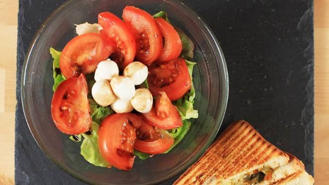 Salade de saison et Croque Hercule - Croque-François, Lille