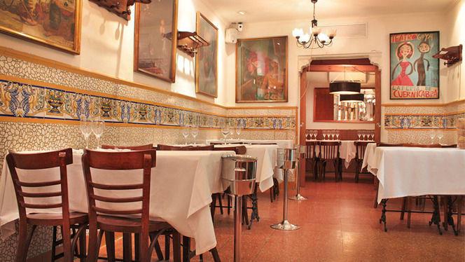 comedor principal y comedor privado - Ca L'Estevet, Barcelona