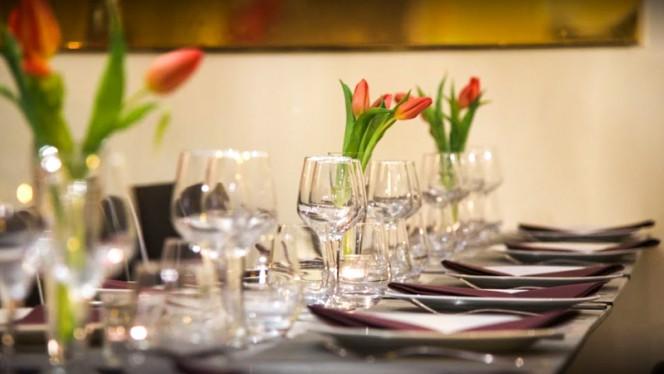 Table dressée - Le Curry, Nice